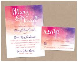 floral wedding invitations printing by