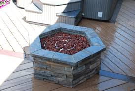 Glass Rocks For Fire Pit by How To Build A Natural Gas Or Propane Outdoor Fire Pit Using