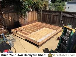 how to frame a floor how to build a shed floor frame galleryimage co