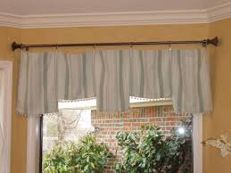 table runner window treatment hgtv