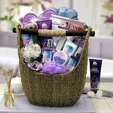 lavender gift basket gift for the ultimate lavender bath spa