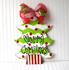 decor tree door hanger wreath