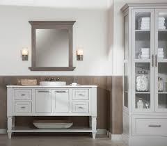 Coastal Bathroom Vanities by Beach Style Bathroom Design Weathered Wood Vanities U0026 Cabinets
