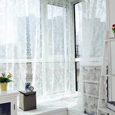 Sheer Bed Canopy Voile Tulle Curtains Lace Curtains Insect Bed Canopy Netting Drape