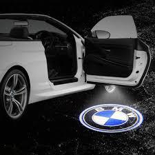 bmw door lights 2pcs led laser projector bmw logo step door