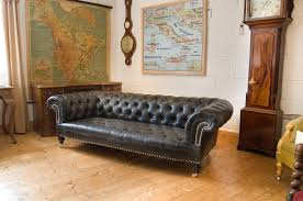 Vintage Chesterfield Leather Sofa Vintage Chesterfield Sofa Leather The Clayton Design Antique