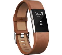 buy fitbit charge 2 classic accessory band brown leather small