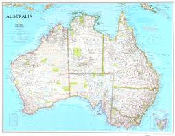 Mail Map Detailed Map Of Australia