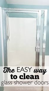 Glass Wax For Shower Doors How To Clean Glass Shower Doors The Easy Way Ask