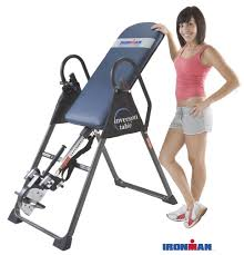 inversion table how to use ironman gravity 4000 inversion table review