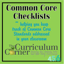 6th Grade Social Studies Printable Worksheets Seventh And Eighth Grade Common Core Checklists By The Curriculum