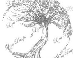tree of life tattoo design by liza paizis original tree