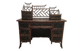 antique style writing desk viyet designer furniture storage antique japanned faux bamboo