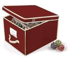 rubbermaid large ornament collectible storage box