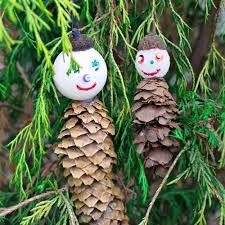 decoration pine cone ornaments tree ornament