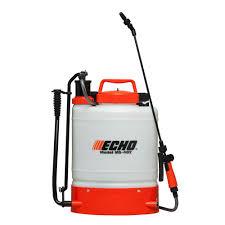 echo 4 gal internal piston pump back pack sprayer ms402 the