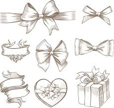 bows for gift boxes bow free eps file ribbon bow and gift