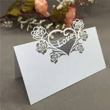 Table Place Cards by Compare Prices On Rose Place Cards Online Shopping Buy Low Price