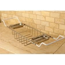 bronze bathtub caddy solid brass satin nickel clawfoot tub caddy free shipping today
