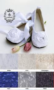 white toddler flower shoe easter baby ballet slipper