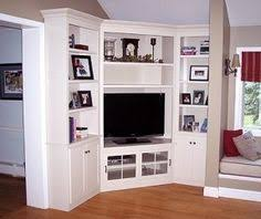 Built In Wall Units For Living Rooms by When And How To Place Your Tv In The Corner Of A Room Cozy