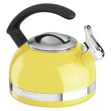 Yellow Kitchen Aid - kitchenaid 2 0 quart stovetop kettle kten20cb target