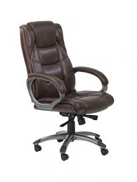 Leather Office Chair Front Executive Chair Aoc6322 L 121 Office Furniture