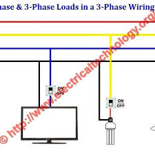 3 phase electrical wiring diagram phase motor control circuit