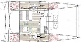 Catamaran Floor Plans Dh 550 Plywood Cruising Catamaran