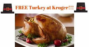 free turkey w a ham purchase at kroger thru 11 15