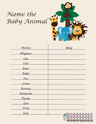 Free Baby Shower Scramble Games - free printable baby shower games