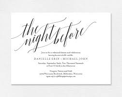 rehearsal dinner invitations rehearsal dinner invitation from bliss paper boutique