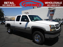 used 2004 chevrolet silverado 2500hd diesel ls in corona