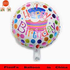 birthday helium balloons custom shaped foil helium balloon aluminium happy birthday foil