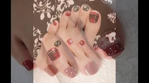 toe nail designs for winter 2017 youtube
