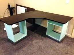 Big Office Desks Large Black Desk Bethebridge Co
