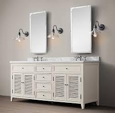 Restoration Hardware Bathroom Vanity by 102 Master Bath Vanity Restoration Hardware Shutter Bath