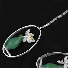 whispers earrings aliexpress buy lotus whispers drop earrings 925 sterling