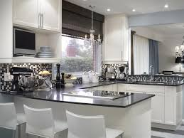 black and white kitchen ideas endearing black and white kitchens ideas photos inspirations