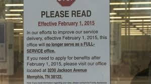 families no longer receiving full service at dhs office on south