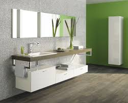 Bathroom Vanity With Makeup Area by Bathroom Design Nice Dessert Bone Stone Colors Bathroom Vanity