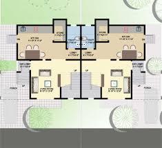 6 row house plans