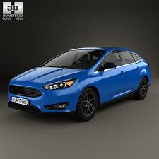model ford focus ford focus sedan 2014 3d model