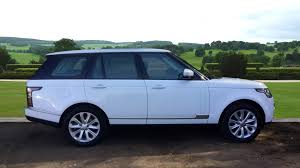 range rover hunter used land rover range rover vogue se tdv6 white lc63rlu