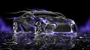 lexus lfa 2016 interior lexus lf lc water neon car 2014 el tony