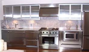 stainless steel cabinets kitchen home decoration ideas