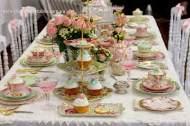 high tea kitchen tea ideas kitchen tea table settings best of table decor ideas for high tea