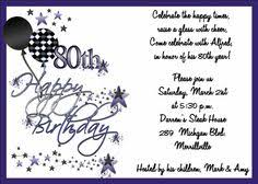 80th birthday party invitations womens by nunskdesigns on etsy