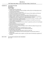 Voice Engineer Resume Network Engineer Resume Sample Velvet Jobs