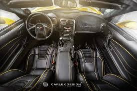 Custom Corvette Interior Carlex Design Creates Top Shelf Interior And Exterior Upgrades For